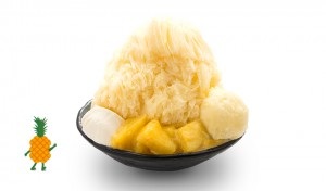 パイナップルかき氷