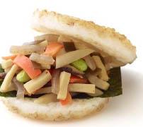 モスライスバーガー 彩り野菜のきんぴら 国産野菜使用