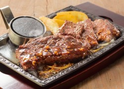 熟成肉のよくばりコンボ(熟成ログステーキ150g+熟成カットステーキ80g)