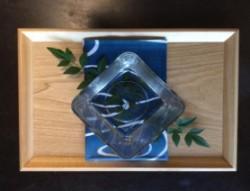 丸亀涼麺祭で使われる、特製の氷の器(イメージ)