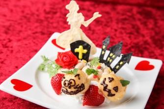 アリスのハロウィンナイト!マロンクリームパンケーキ~ジャックオーランタン?チェシャ猫?にやにやしながらまってるぞ!~