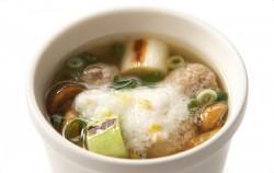 女川産さんまのつみれスープ