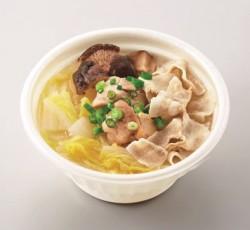 「愛知県産白菜と豚バラのあったかスープ鍋