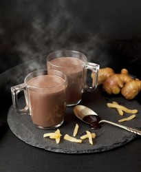 リンツ・ダークチョコレートジンジャードリンク