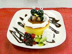 ペンギンスノードームパンケーキ