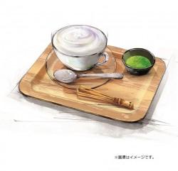 まるごと緑茶葉と味わうふわふわグリーンラテ