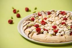 新規オープンしたイクスピアリ店限定のチョコレートピザ「ピスタチオ ラヴァーズピザ」