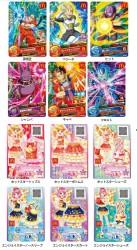 「ドラゴンボール超(スーパー)」と「アイカツスターズ!」のキャラクターカード