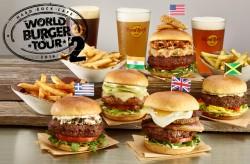 世界各地のご当地バーガーが楽しめる「ワールドバーガーツアー」