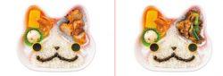 「オレっちジバニャン弁当~から揚だニャン~」(左)、「オレっちジバニャン弁当~焼肉だニャン~」(右)