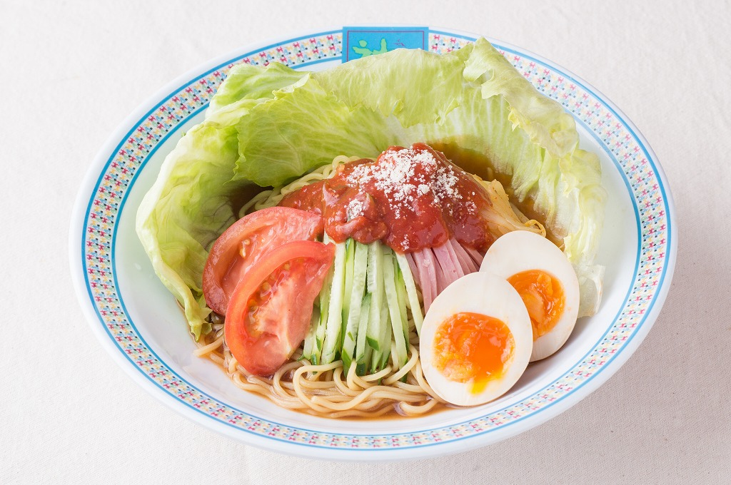 旬の野菜がたっぷりと摂れる「イタリア風トマト冷麺」