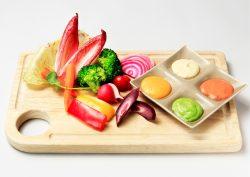 新鮮野菜と4種のカラフルマヨディップ(東京店)