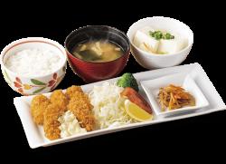 フライに使用する牡蠣を広島県産牡蠣に変更した「牡蠣フライ膳~広島県産牡蠣使用」