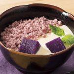 デニーズオリジナルスイーツ「紫芋と黒ごまのティラミス風~南九州産紫芋使用」