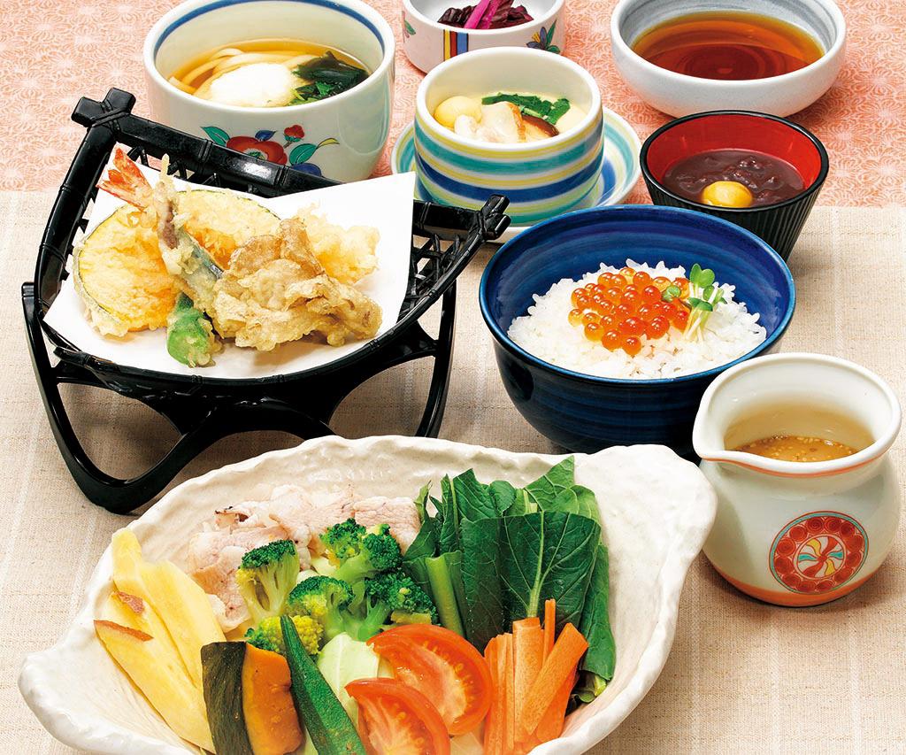 秋の旨みがたっぷり愉しめる「秋の彩菜膳」
