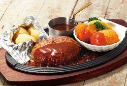 ハンバーグ&牡蠣のクリームコロッケと子持ち帆立フライ