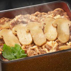 期間限定・数量限定の「松茸牛丼」