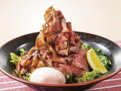 特盛り炙りローストビーフ丼