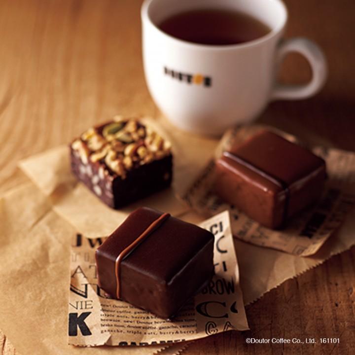 コーヒーのおいしさを引き立てる新コンセプトのブラウニー