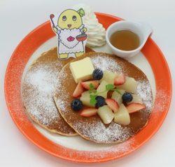 ふなっしーの梨パンケーキ