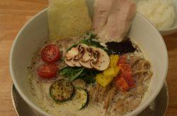 ソラのキノコベジ白湯麺
