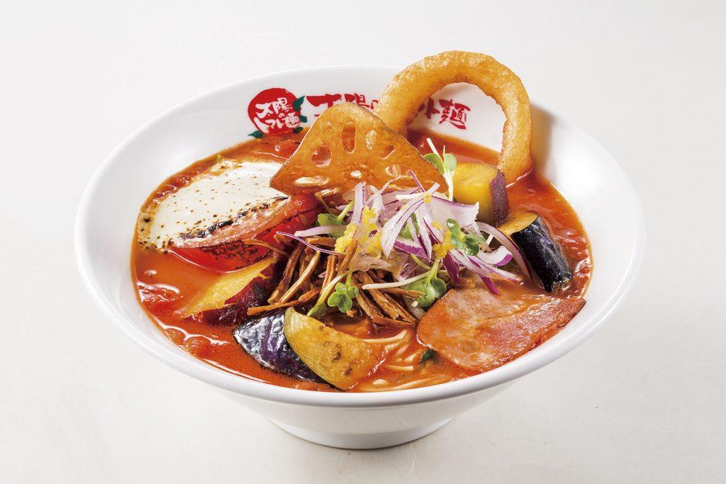よくばり野菜のベジトマ麺