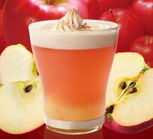 ごろっと果実のホットアップルシナモン