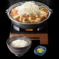 北海道豚味噌鍋膳