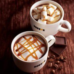 カフェ・ショコラ~乳酸菌プラス~(手前)とマシュマロ・ショコラ~乳酸菌プラス~(奥)