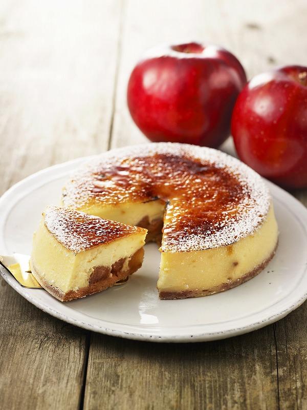 贅沢ブリュレチーズタルト―ごろごろりんご―