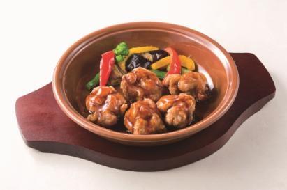 鶏肉のオーブン焼き(バルサミコ酢ソース)