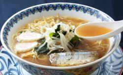 株式会社小山製麺「絶品秋刀魚ラーメン」