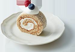 アールグレイのロールケーキ