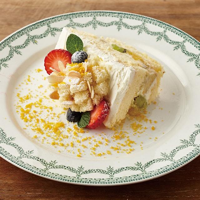 ミモザショートケーキ