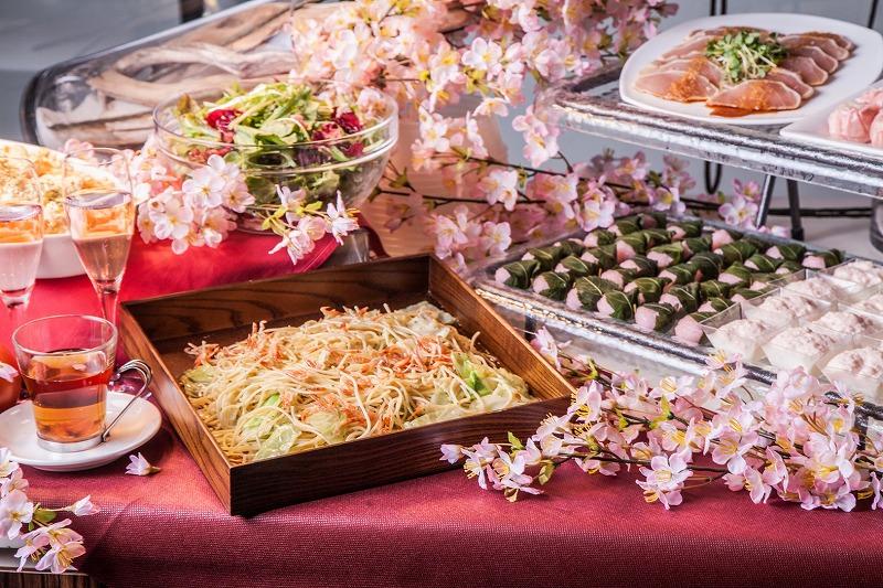 春の桜ランチビュッフェ