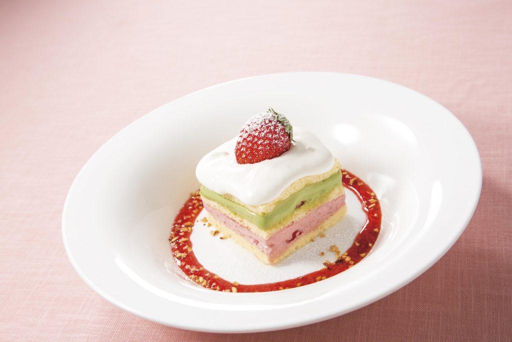 とちおとめのショートケーキ