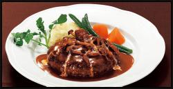 Grand★★★グランスタ― 黒×黒ハンバーグ ブラウンバターソース