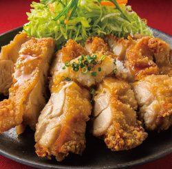 鶏もも一枚揚げ定食