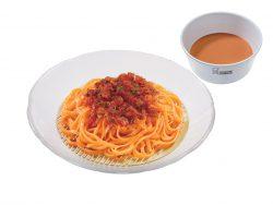 トマト豆乳ベジ涼風麺