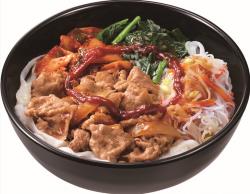 ロカボ牛ビビン麺