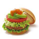 【5/23】モスで野菜をおいしく食べよう。「アボカドサラダバーガー 5種の野菜とレモンのソース」新発売