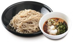 ピリ辛海苔つけ蕎麦