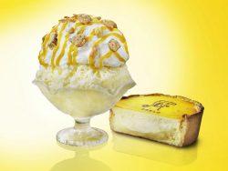 チーズタルトかき氷 ひんやりチーズタルト