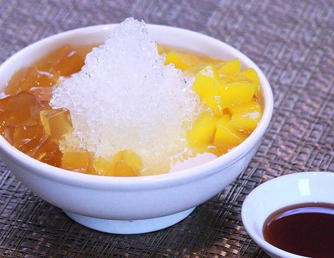 愛玉マンゴーかき氷豆花