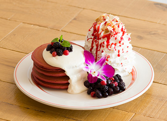 YOKOHAMAレッドベルベットパンケーキ