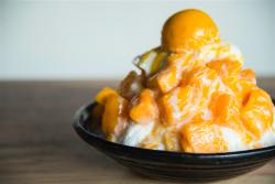 マンゴーミルクかき氷