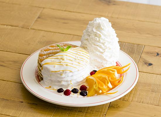 福岡天神店3周年記念「Ekolu(エコル)パンケーキ」