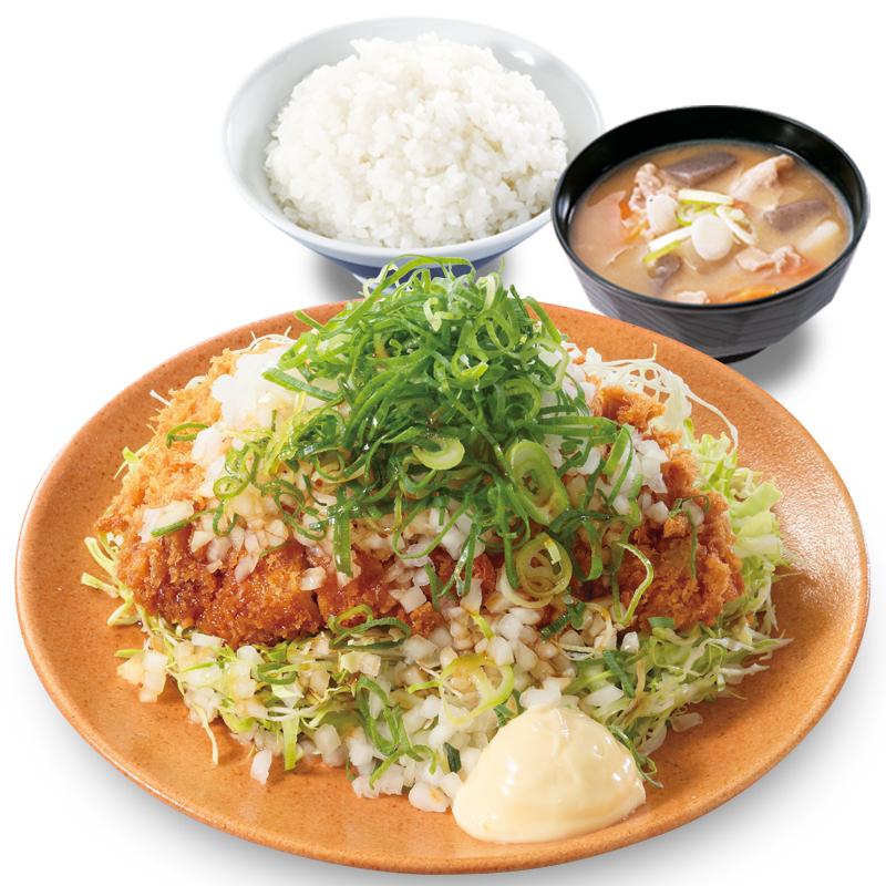 マヨぽんチキンカツ定食