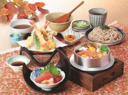 秋の恵み釜めし和膳