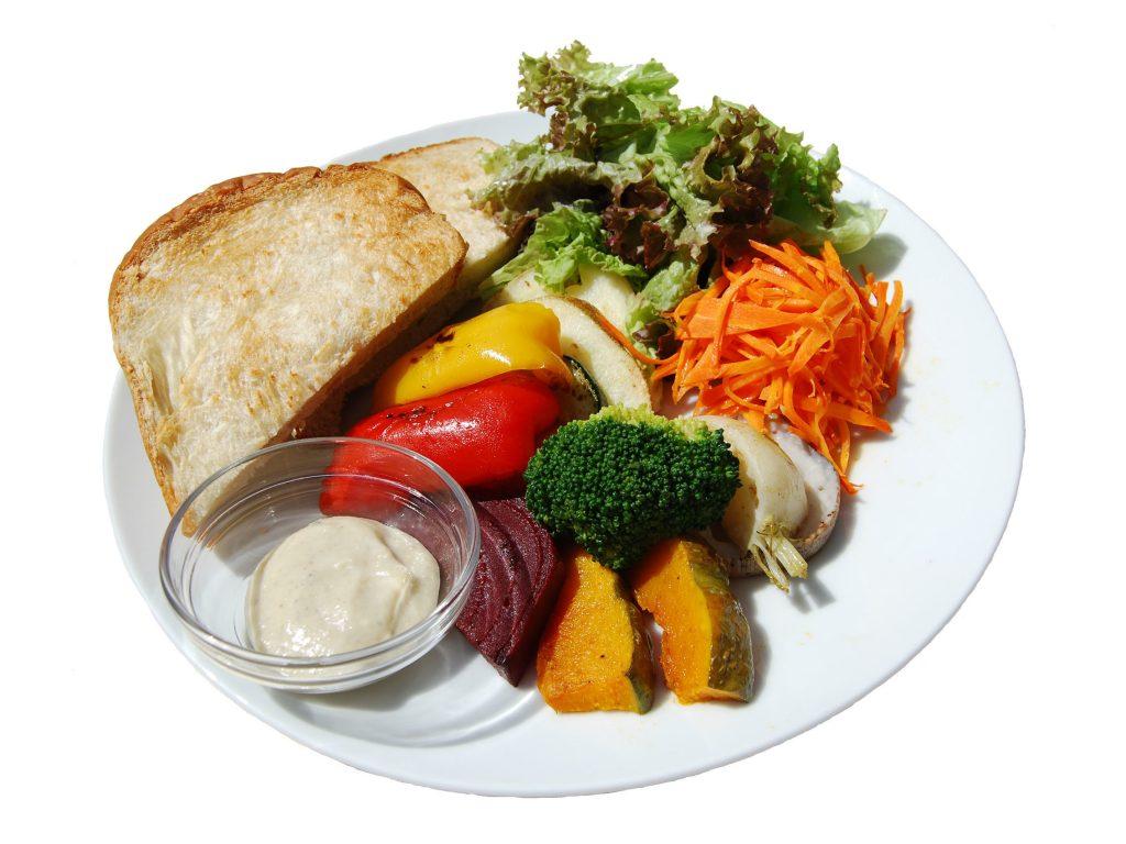 グリル野菜のサラダプレート